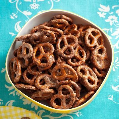 süße Chipotle-Brezeln