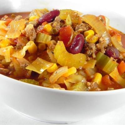 Diann's Chili Gemüsesuppe