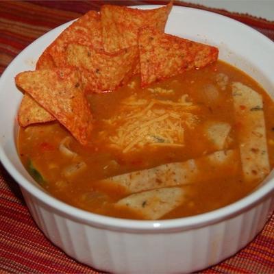 Tortillasuppe iii