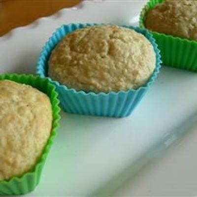 leichte Haferflocken-Muffins