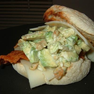 Cashew Avocado Hühnersalat