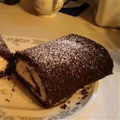 Schokoladen-Bananen-Kuchenbrötchen