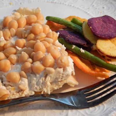 Hühnchen-Pita-Joghurt-Auflauf