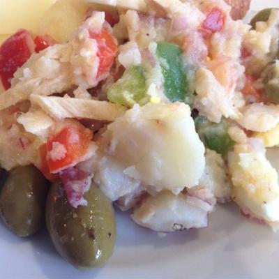 Pipirrana (spanischer Kartoffelsalat)