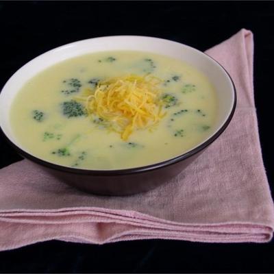 ausgezeichnete Broccoli-Käse-Suppe