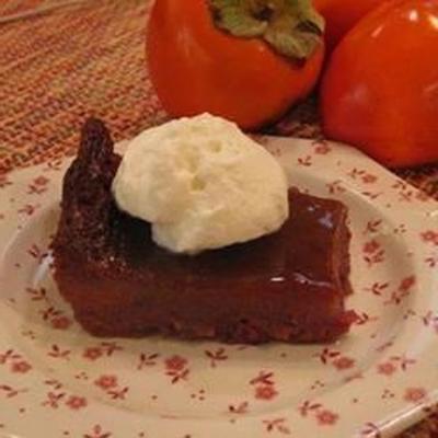 Nonnies Kaki-Pudding