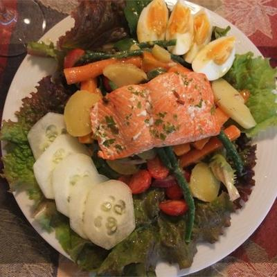 gebratener Thunfisch mit Zitrus-Kräuter-Vinaigrette