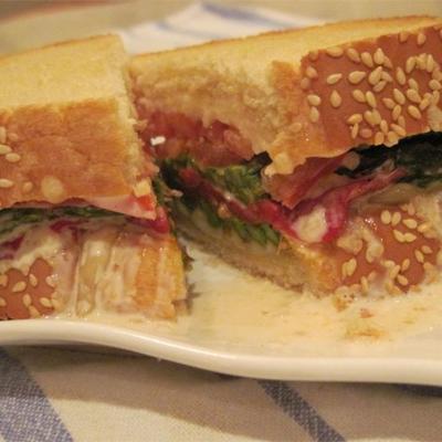 super Spargel-Sandwich