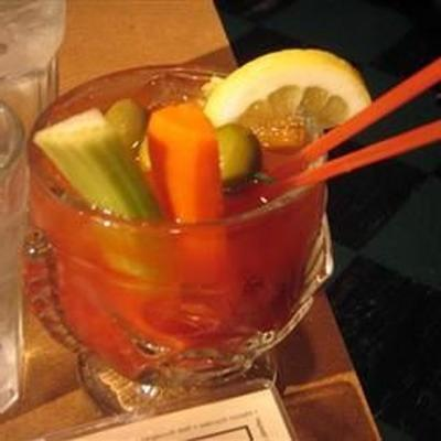würziger Red Snapper (Bloody Mary mit Gin)