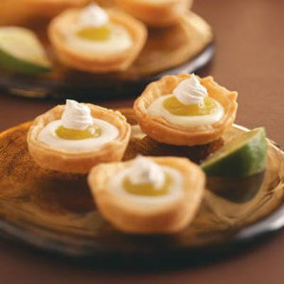 Limettenkuchen-Törtchen