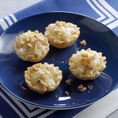 birnenblaue Käsetörtchen