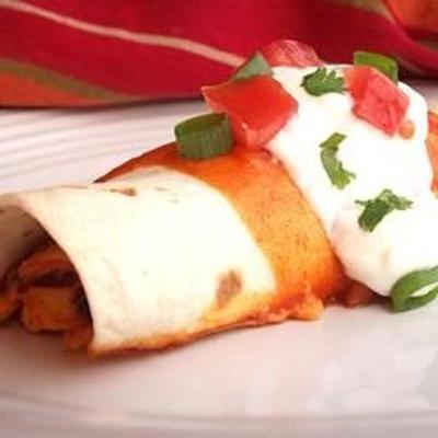 Fiesta Huhn Enchiladas