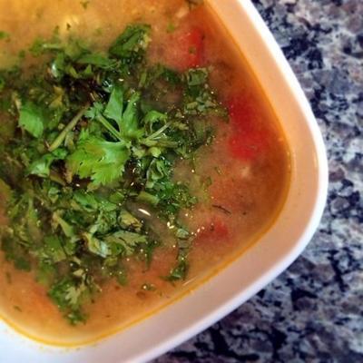 Sopa de Lima (mexikanische Limettensuppe)