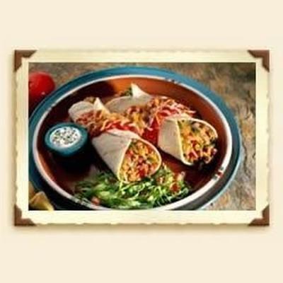 Enchiladas mit Käse und Rindfleisch