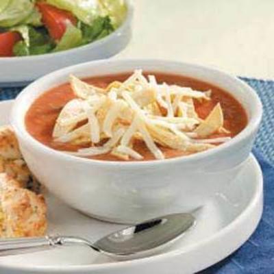 gekühlte Bohnensuppe
