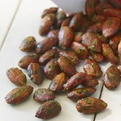 Basilikum-Pesto-Mandeln