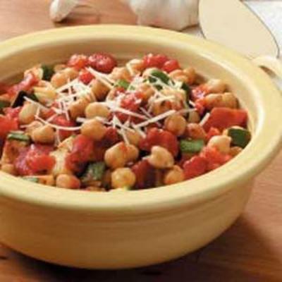 Zippy Zucchini mit Tomaten