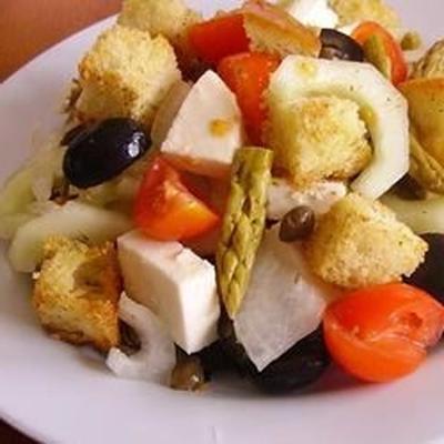 Spargel-Tomaten-Panzanella