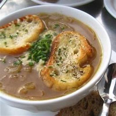 Schmortopf französische Zwiebelsuppe