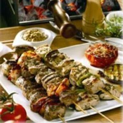 marinierte kebabs mit maille® dijon originale senf