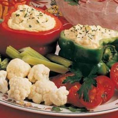 festliches Gemüsedip