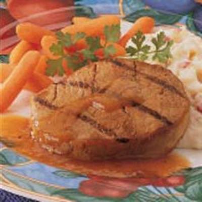Honig-Limetten-Schweinekoteletts