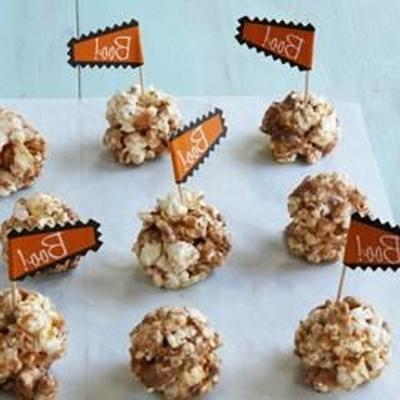 Butterfinger-Popcornbällchen