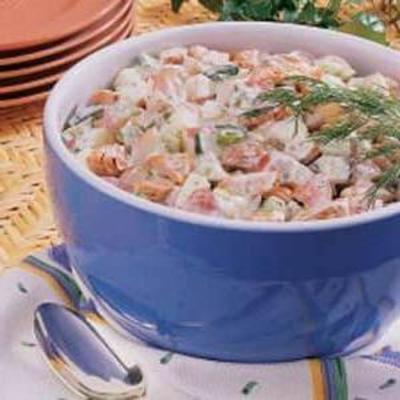 Lachskartoffelsalat