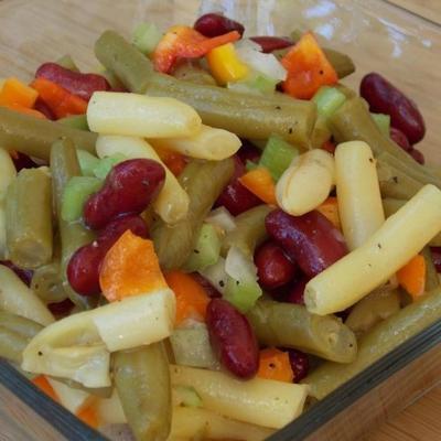 traditioneller Bohnensalat