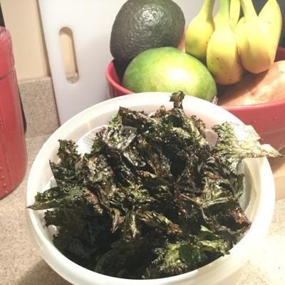 Gemüsekohlchips