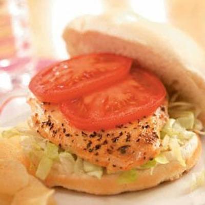 Honig-Senf-Hähnchen-Sandwiches