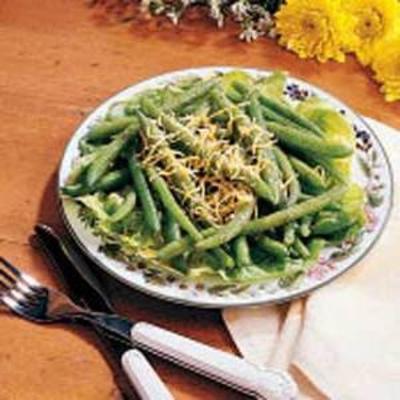 Tex-Mex-Salat mit grünen Bohnen