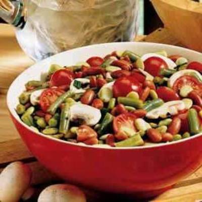 Drei-Bohnen-Gartensalat