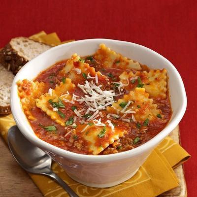 Ravioli-Suppe