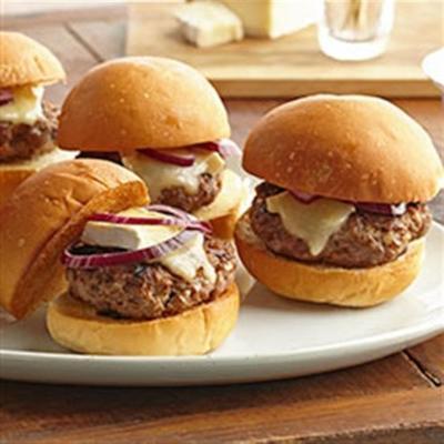 Rindfleisch und Brie Sliders