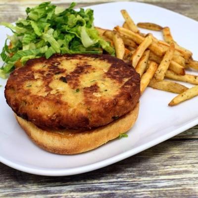 Paleo-isch Lachsburger