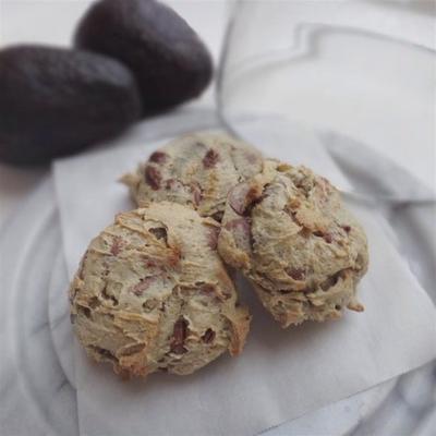 Schokoladenkekse mit Avocado