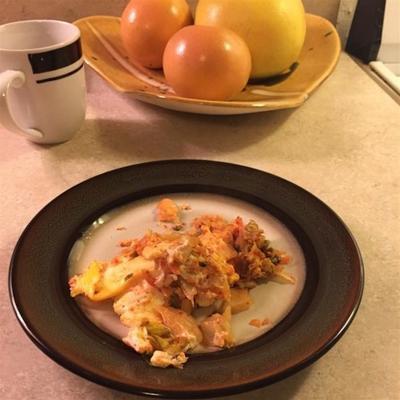 Kimchi-Ei der Mutter