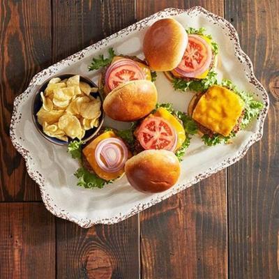 pikante Chipotle-Cheddar-Burger