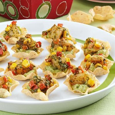Nacho-Häppchen mit kleinem Biss und großem Geschmack