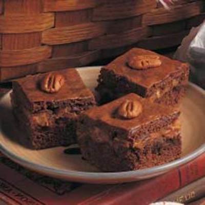 Turtle-Nuss-Kuchen