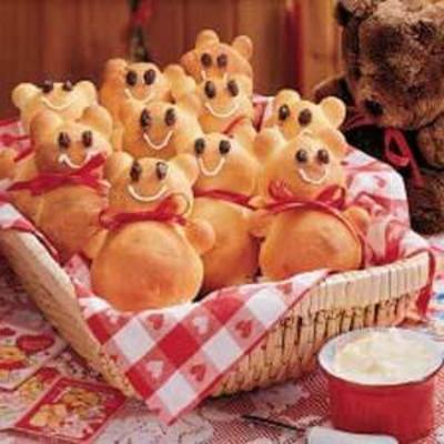 Teddybär Brötchen