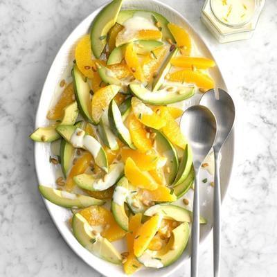 Avocado-Zitrussalat
