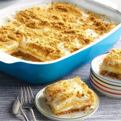 Llemon Frischkäse-Dessertquadrate