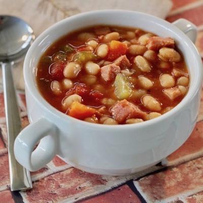 Instant Pot® Doppelbohnen-Schinken-Suppe