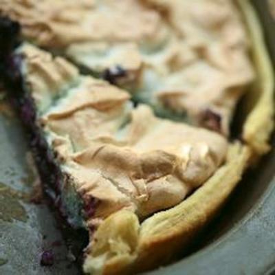 4-Zutaten-Heidelbeer-Baiser-Torte