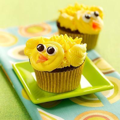 Küken Cupcakes
