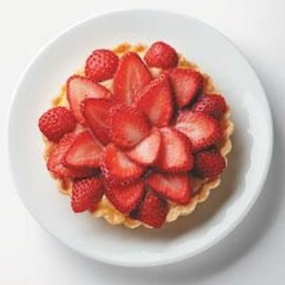 Erdbeertörtchen mit natürlichem Süßstoff truvia®