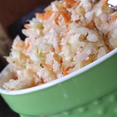 frecher Gefrierschrank Krautsalat