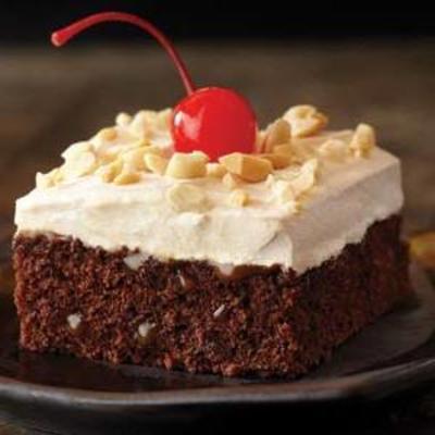 Karamell-Brownie-Kuchen